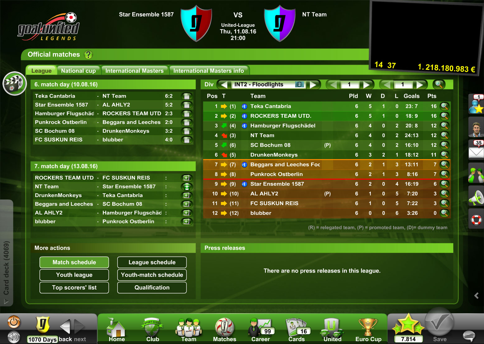 Home goalunited legends the online football manager game you step into the combined role of soccer manager and coach gumiabroncs Gallery